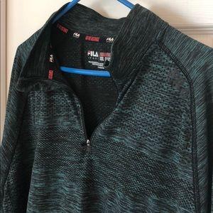 Men's Fila sport long sleeve shirt XXL.